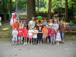 group fun in the laurel highlands at jellystone mill run