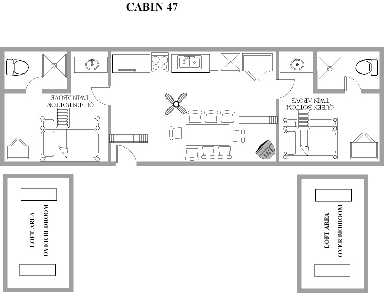 Floor Plans For Cottage With Loft
