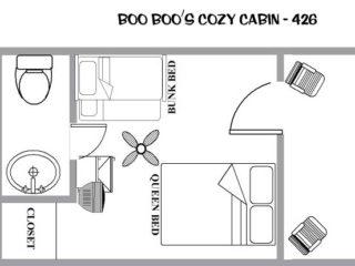 Boo Boo Cozy Cabin - Jellystone Mill Run - Vacation Rental in PA