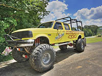 monster truck rides - 4x4 adventure ride at jellystone millrun rv park