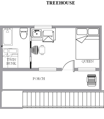 tree house floorplan