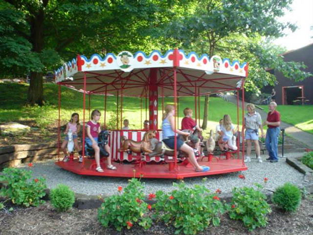 Carousel Rides at Yogi Bears Jellystone Park in Pittsburgh PA