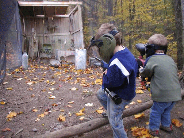 paintball at mill run jellystone near pittsburgh