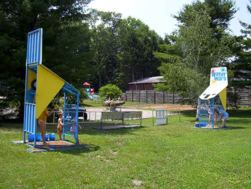 water war fun at mill run jellystone in PA