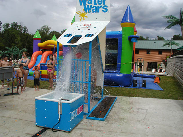 water war fun at yogi bears jellystone park at mill run near pittsburgh pa