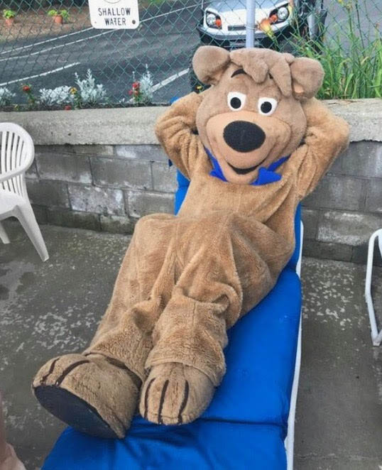 Join Boo Boo while he relaxes at Jellystone Park at Mill Run PA