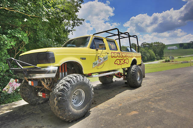 Jellystone Mill Run Campground in the Laurel Highlands of PA offers monster truck rides