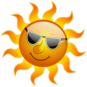 Healing a sunburn