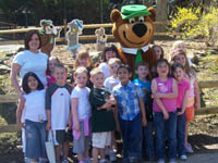 kids with yogi bear